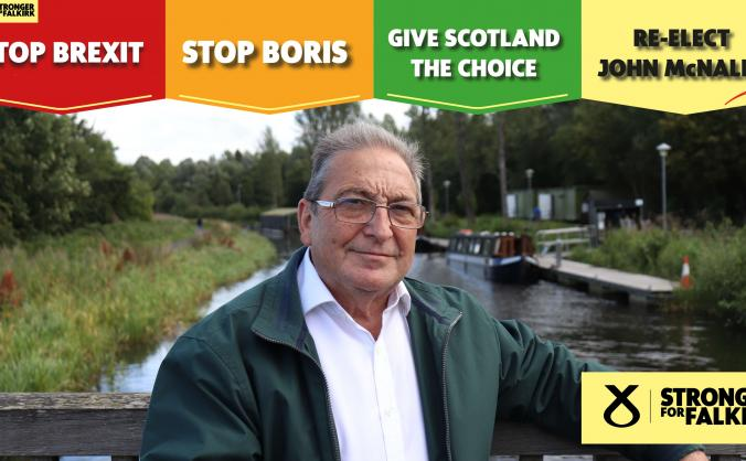 Re-elect John McNally - SNP Candidate for Falkirk
