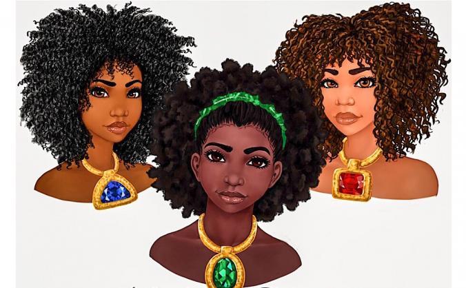 Nubian Reines