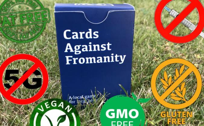 Cards Against Fromanity in time for new year