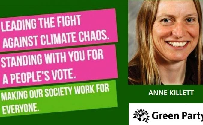 Anne Killett for a Green Voice in Great Yarmouth