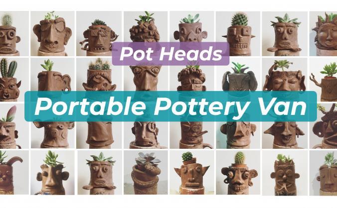 The Pot Heads Portable Pottery Studio
