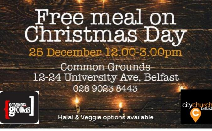 Free Community Christmas Day Meal 2019