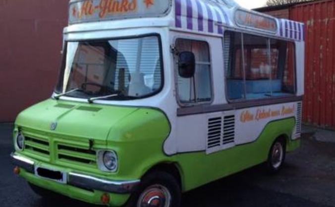 Mr Tipsy! Ice Cream Van Into A Mobile Bar!