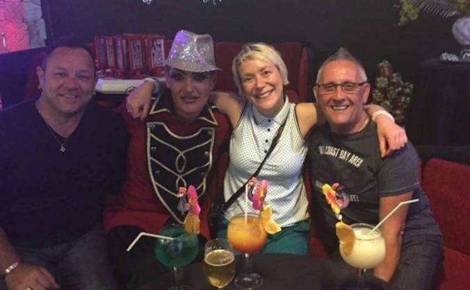 New bar for Captain Sparkle