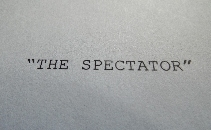 The Spectator - Short Film
