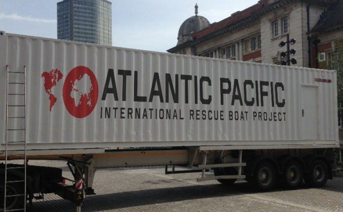 Atlantic Pacific International Rescue Boat Project