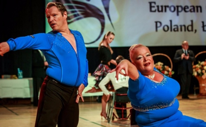 Team GB Wheelchair DanceSport EuropeanChampionship