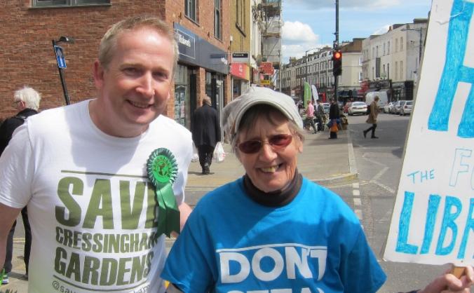 Elect Pete to Lambeth Council