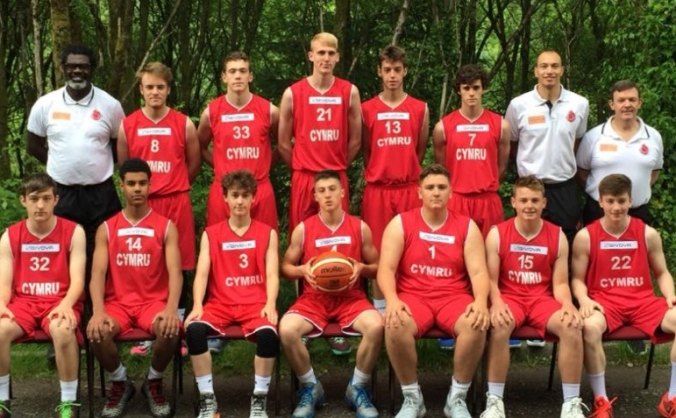 Basketball Wales Under 16 Men's FIBA Squad