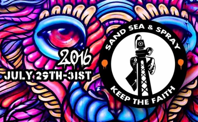 Sand, Sea & Spray 2016