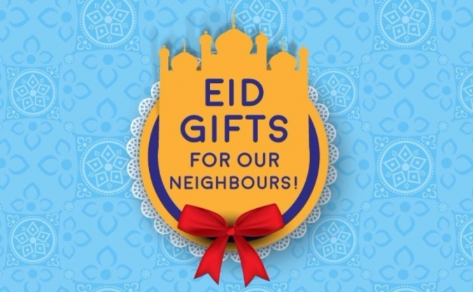 Sharing the Eid feeling with Ealing!