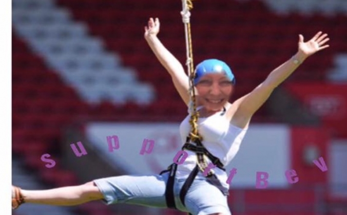 Bev's Zip Wire Challenge
