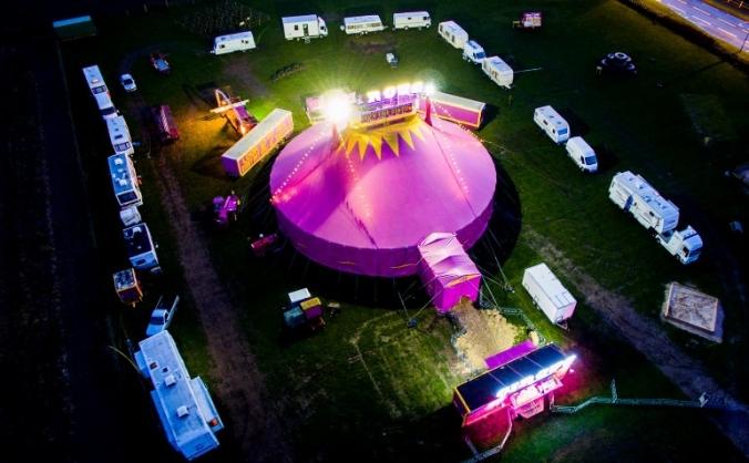 Paulos Circus Brand New Bigtop