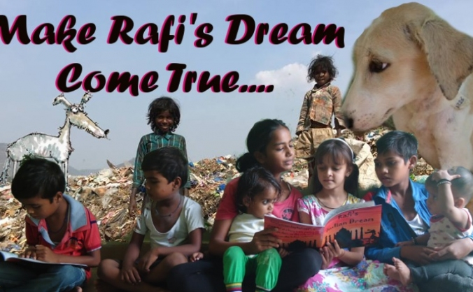 Help Make Rafi's Indian Dream Come True