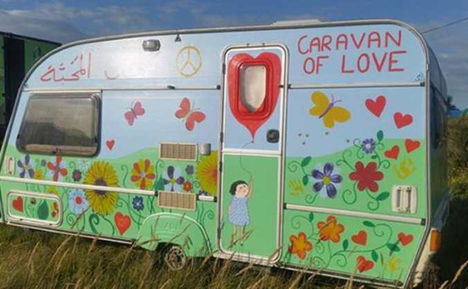 Caravan for Calais