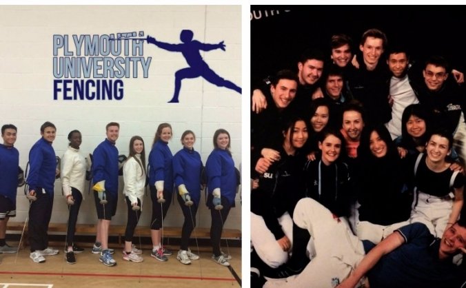 Save Plymouth University Fencing Club