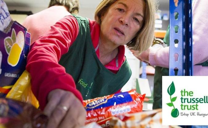 Trussell Trust food banks need your support