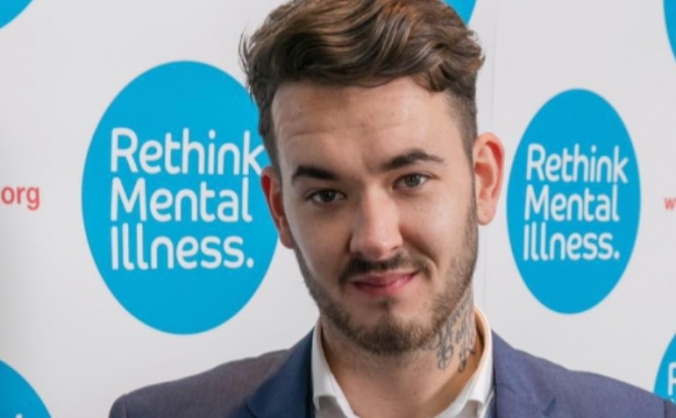 Mr Bromley mental health campaigner