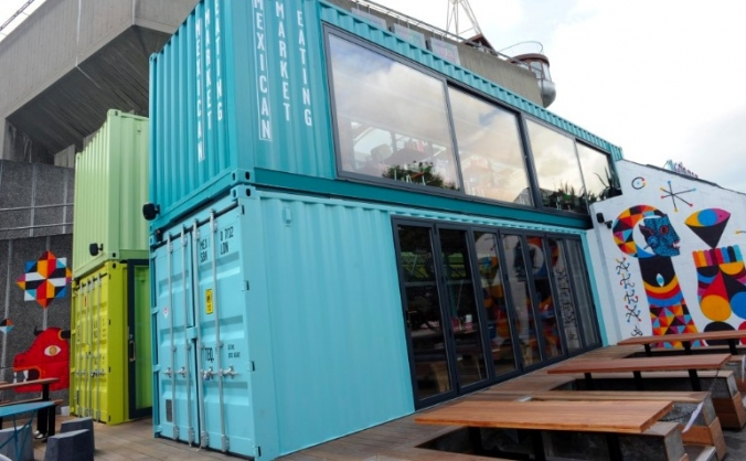 Shipping container home & business