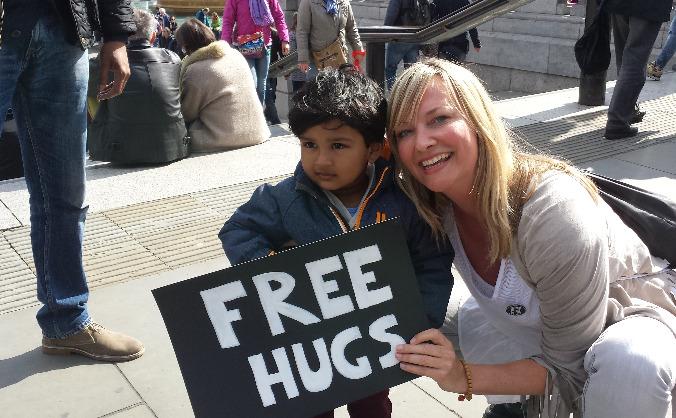 Get Londoners Hugging