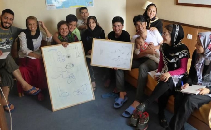 Skillshare Athens - a project for refugees