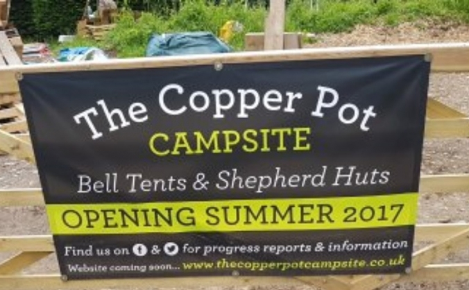 The Copper Pot Campsite.