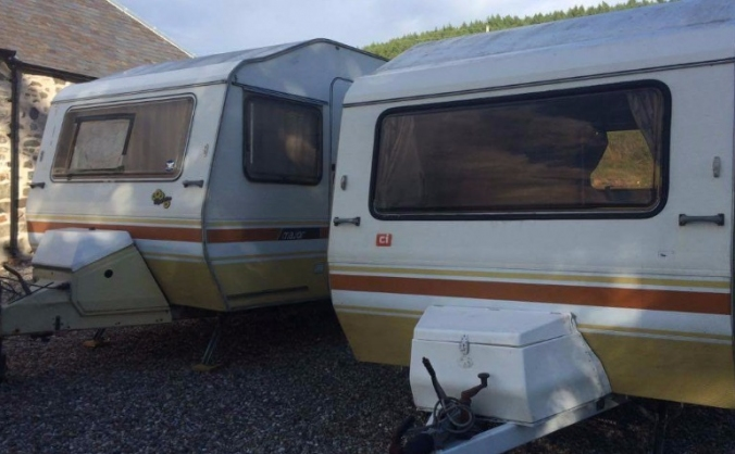 40th birthday caravan to donate to Calais