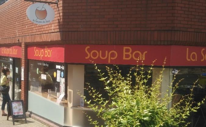 La Soupe du Jour - New Location