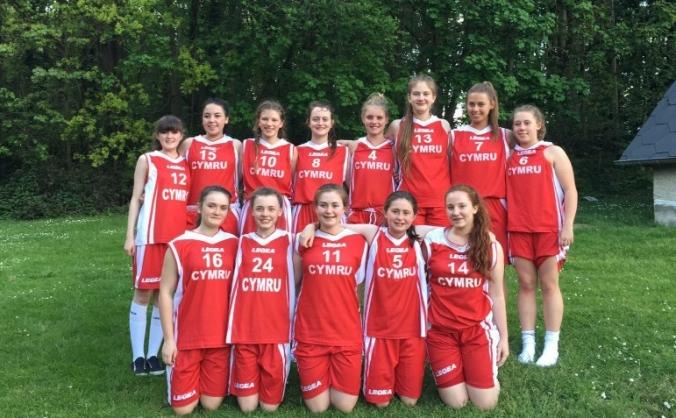 Basketball Wales Under 16 Girls