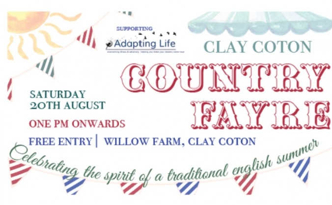 Adapting Life - Clay Coton Country Fayre
