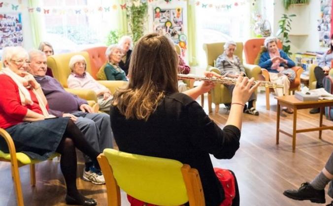 Musica - music workshops for older adults