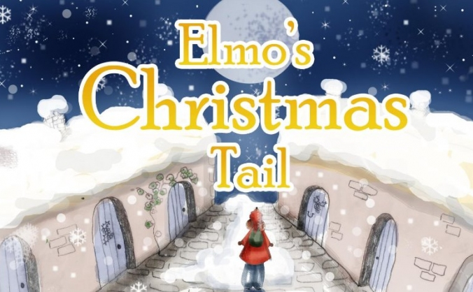Elmo's Christmas Tail