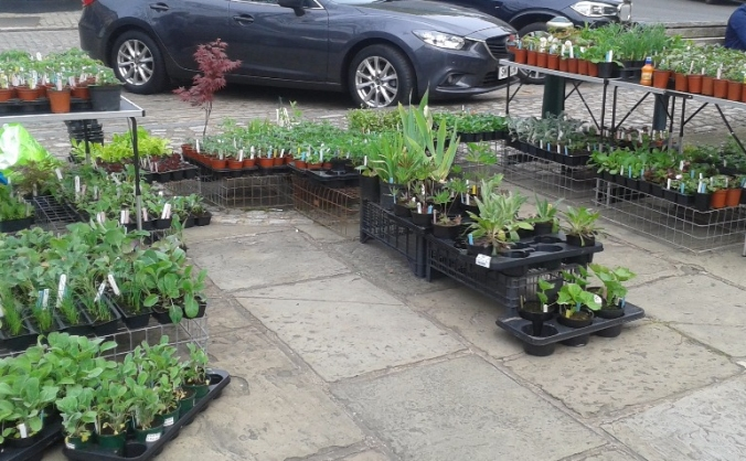 Buy Stock for a new Atherstone market stall