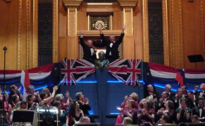 Flags for The Last Night Of The  Proms