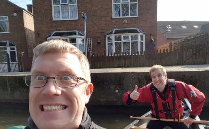 Lincoln to Boston Charity Canoe Slog