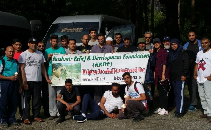 Snowdonia Charity Trek KRDF