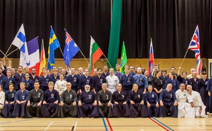Team GB Jodo European Championships 2016