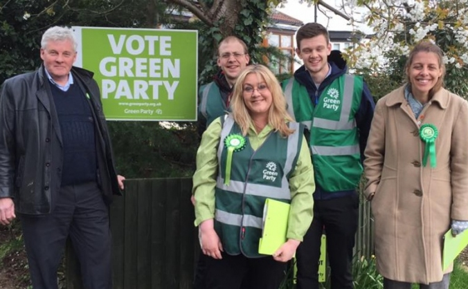 Peterborough's First Green City Councillor