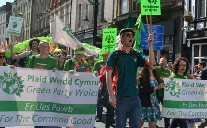 Fighting fund for Cardiff and Vale Green Party