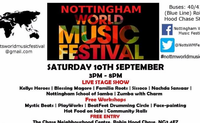 Nottingham World Music Community Festival