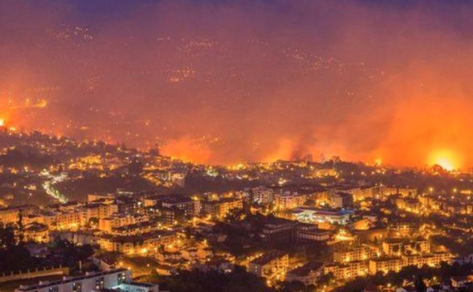Help for fire victims in Madeira Island .