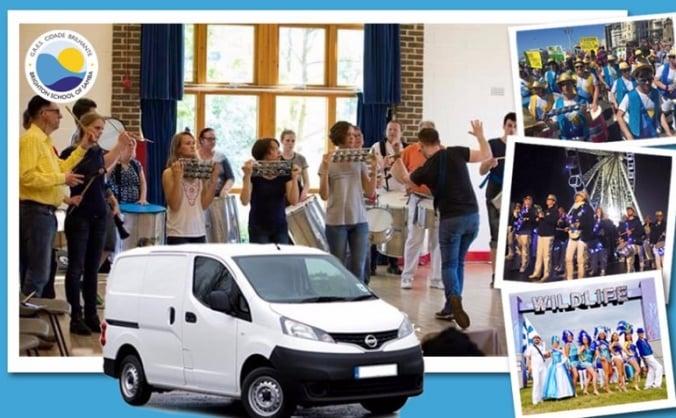 Brighton School of Samba Van Crowdfund