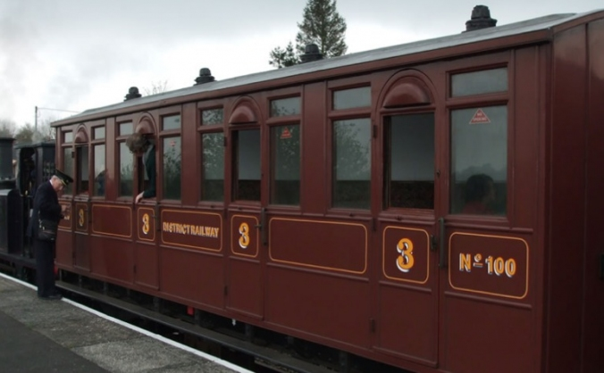 Metropolitan District Railway Coach Restoration