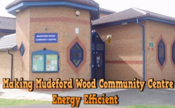 Making Mudeford Wood Community Centre Energy Efficient
