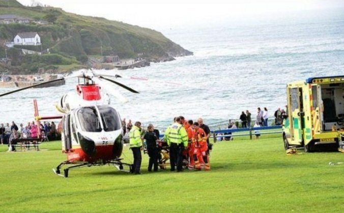Newquay HEROS RNLI Air Ambulance & Coastguard