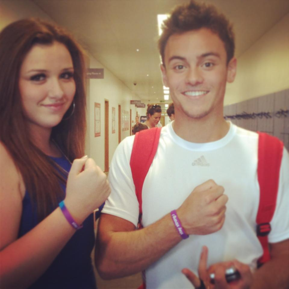 Amy and Tom Daley, Olympic diver