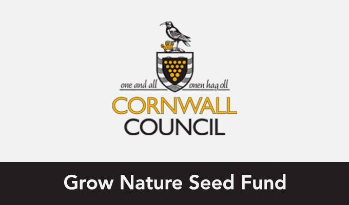 Cornwall Council: Grow Nature Seed Fund logo