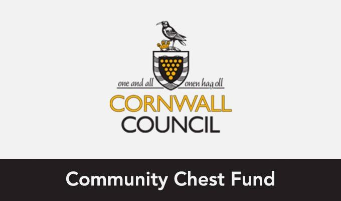 Cornwall Council: Community Chest Fund logo image