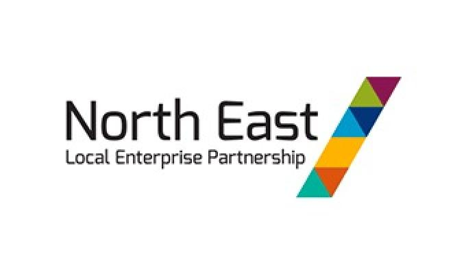 Crowdfund North East LEP logo
