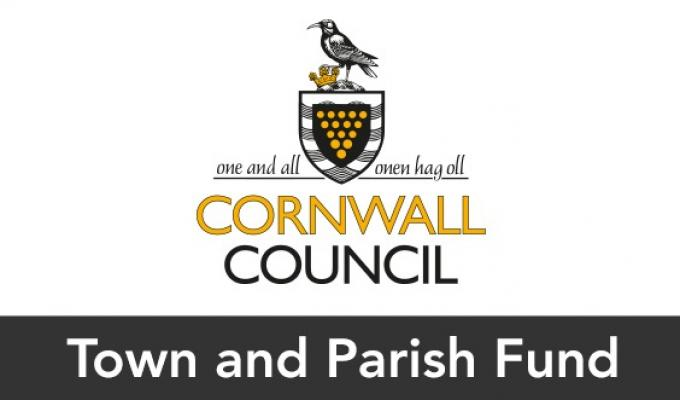 Cornwall Council: Town and Parish Council and Community Group Fund logo